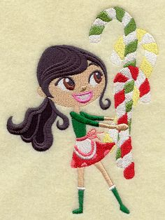 Christmas Sprite with Candy Canes