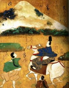 Ise monogatari emaki -- illustrated handscroll of the Tales of Ise