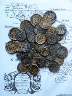 Casting your own Pirate Doubloons