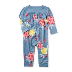 Tea Collection 'Riko' Wrap Neck Romper (Baby Girls) available at Little Baby Girl, Baby Kids, Baby Sleepers, Baby Girl Romper, Niece And Nephew, Neck Wrap, Kids Outfits, Kids Fashion, Rompers