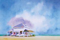 Jeanne Dobie - Sea forever, watercolor on paper