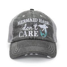 Mermaid Hair Don't Care Hat