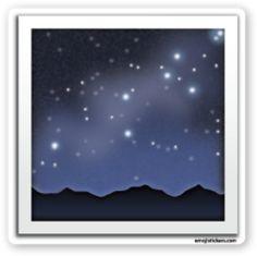 Milky Way | Emoji Stickers