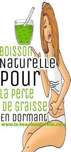 Boisson naturelle pour la perte de graisse en dormant #perte #graisse