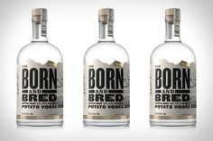 To many, all vodkas are the same. But there are some truly exceptional vodkas being distilled these days, and one of those just happens to be made in the USA. Born and Bred Vodka is distilled by Grand Teton Distillery...