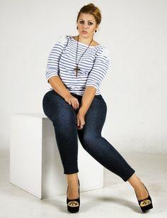 Russian plus size curvy model Katalina Gorskikh