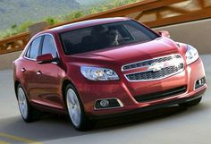 8. Chevrolet Malibu 1LT — TOP10 Cheapest 2013 Mid-Size Cars in U.S.)