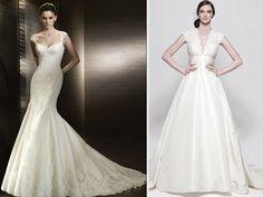 Conoce como debe de ser el vestido de novia para una novia con personalidad elegante #bodas #elblogdemaríajosé #vestidonovia