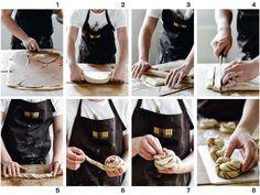 Bread Bun, Allrecipes, Reusable Tote Bags, Desserts, Food, Breads, Muffins, Apron, Pizza