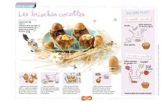 Les brioches cocottes: une recette de brioches salées à passer au four ... Miam! (Extrait du magazine Astrapi n°835, pour les enfants du 7 à 11 ans) Keto Meal Plan, Food Illustrations, Tupperware, Entrees, Meal Planning, Keto Recipes, Meals, Cooking, Breakfast