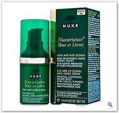 NUXE Nuxuriance Krem przeciwzmarszczkowy pod oczy usta - krem na zmarszczki 15ml Contour, Nuxe, Roche Posay, Anti Aging, Shampoo, Personal Care, Eyes, Bottle, Beauty