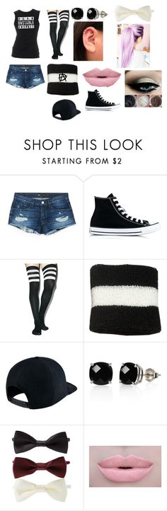 """outfit #26"" by pie12345 ❤ liked on Polyvore featuring 3x1, Converse, Leg Avenue, NIKE, Belk & Co., Forever 21 and Morphe"