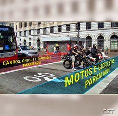 Cinco bolsões de espera para motos e bicicletas serão ativados na Avenida Professor Francisco Morato +http://brml.co/1EIPyny