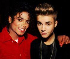 Michael Jackson and Justin Bieber