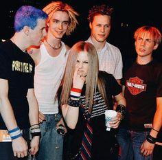 Avril lavigne com a banda