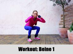Workout: Beine 1 - Schöner Po, dünne Beine & Flacher Bauch - BodyKiss