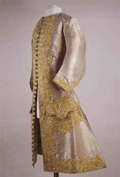 Camisole of the Coronation Costume of Emperor Peter II   France   1727   silk, gold thread   Kremlin State Historical & Cultural Museums