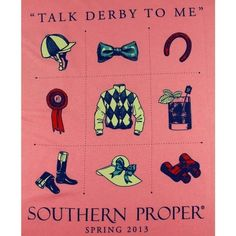 talk derby to me. Ready for spring, derby days, and Foxfield races!!