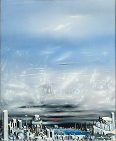 Yves Tanguy: From Green to White [From The Metropolitan Museum of Art] Yves Tanguy, History Essay, Museums In Nyc, Max Ernst, Royal Academy Of Arts, Surrealism Painting, Wall Accessories, Magritte, Joan Miro