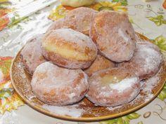 Bucataria tuturor: Pancove (gogosi). Pretzel Bites, Hamburger, Deserts, Muffin, Cooking Recipes, Bread, Breakfast, Food, Morning Coffee