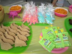 Pink Dino birthday Party