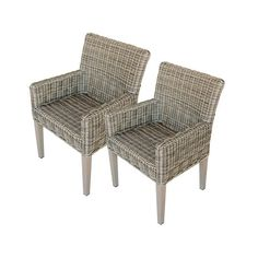 FREE SHIPPING! Shop AllModern for TK Classics Cape Cod Dining Arm Chair with Cushion (Set of 2) - Great Deals on all  products with the best selection to choose from!
