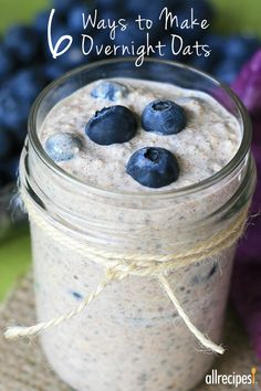 A basic recipe for easy overnight oats to get you started, plus 5 ideas for flavor change-ups.