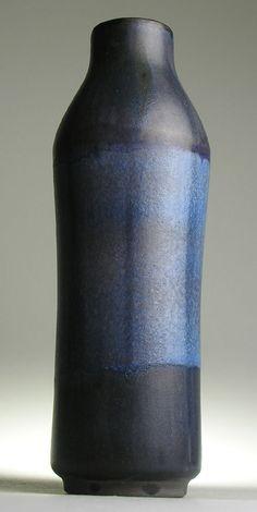 Karlsruhe Majolika West German Pottery Modernist 20 th Mid Century Vintage Retro #Vases