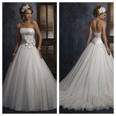 Maggie Sottero Ballgown Wedding Dress.