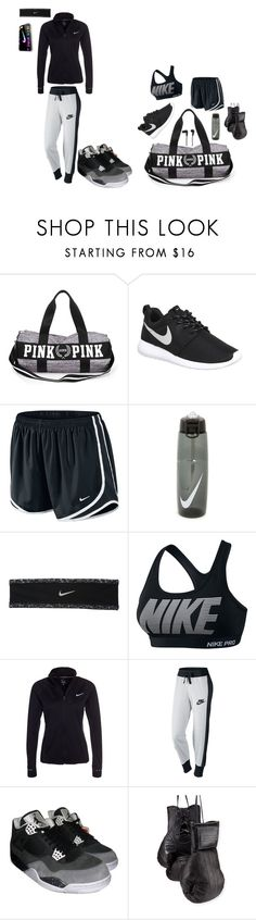 """""""#gymflow"""" by annaleigh1213 ❤ liked on Polyvore featuring NIKE, Elisabeth Weinstock, B&O Play, women's clothing, women, female, woman, misses and juniors"""