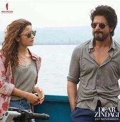 Alia Bhatt & the most handsome man first time on screen #DearZindagi