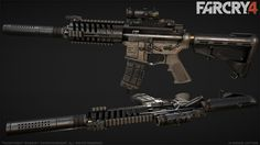 Far Cry 4: P416/HK416: The P416, along with all FC3 weapons, received an upscale and retexturing.