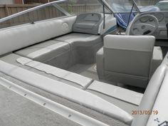 Homebuilt boat bench boat renovation pinterest upholstery the o 39 jays and scrap wood projects for How to restore a boat interior