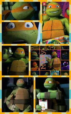 Tmnt Mikey, Tmnt Leo, Miguel Angel, Tmnt 2012, Cute Turtles, Girl Meets World, Michelangelo, Teenage Mutant Ninja Turtles, Funny Faces