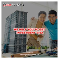 We help You to Get #Investment Visa.