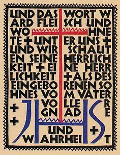 Rudolf Koch - 1924