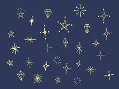 手書きのキラキラ素材のイラスト2種 | nancysdesignイラスト部 Outline Illustration, Beauty Illustration, Doodle Drawings, Easy Drawings, Doodle Diary, Journal Fonts, Candle Magic, Vintage Scrapbook, Bullet Journal Inspiration