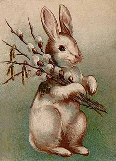 Easter bunny- German legend: a rabbit or hare that goes to the homes of children and judges if they have been good. If they have, it leaves them candy or toys in eggs around their house that they have to find the morning after.