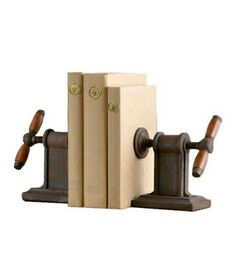 Bookends bring dimension and personality to shelves. Here, find seven handsome options to bring order to your library.