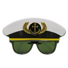 This pair of Captains costume glasses will be a great addition to your party outfit. Captain Costume, Captain Hat, Fancy Dress Glasses, Phantom Mask, Opera Mask, Hero Costumes, Children Images, Halloween Masks, Masquerade
