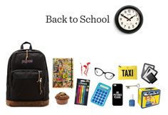"""""""School Bag"""" by boni123 ❤ liked on Polyvore featuring art"""