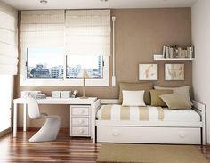 20 ideias incríveis de decoração para quartos pequenos. - Belmore Móveis Planejados