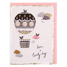 Lovely day balloon card