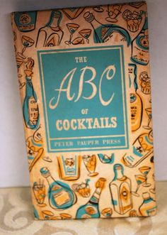 The ABC of Cocktails  Peter Pauper Press (Hardcover, 1953)