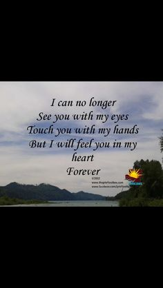 In my heart forever