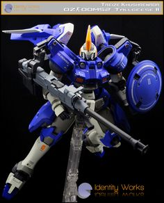 GUNDAM GUY: P-Bandai Hobby Online Shop Exclusive: MG 1/100 Tallgeese II - Painted Build