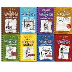 The wimpy kid do it yourself book diary of a wimpy kid jeff diary of a wimpy kid collection 8 books set diary of a wimpy kid solutioingenieria Gallery