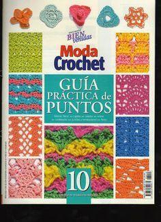 Moda Crochet - Guía practica de puntos No. 10