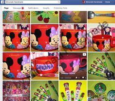 Timeline Photos, Handmade Home, Messages, Facebook, Text Posts, Text Conversations