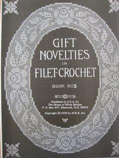 Gift Novelties in Filet Crochet  Book No. 3  von KendallsCrochet